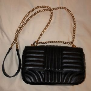 Forever 21 Black Leather Bag